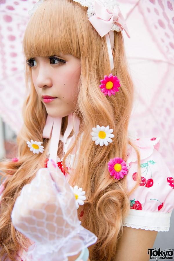 Floral Hair Pins Harajuku