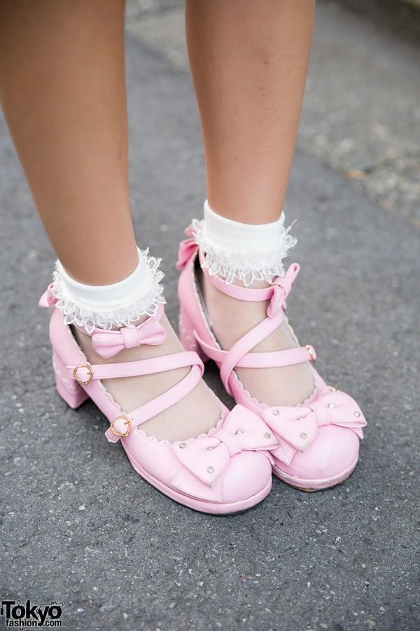 Angelic Pretty Shoes & Ruffle Socks