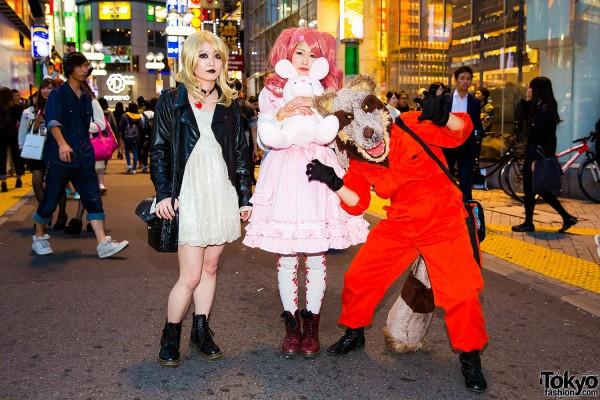 Halloween Eve in Japan - Costumes in Shibuya (3)