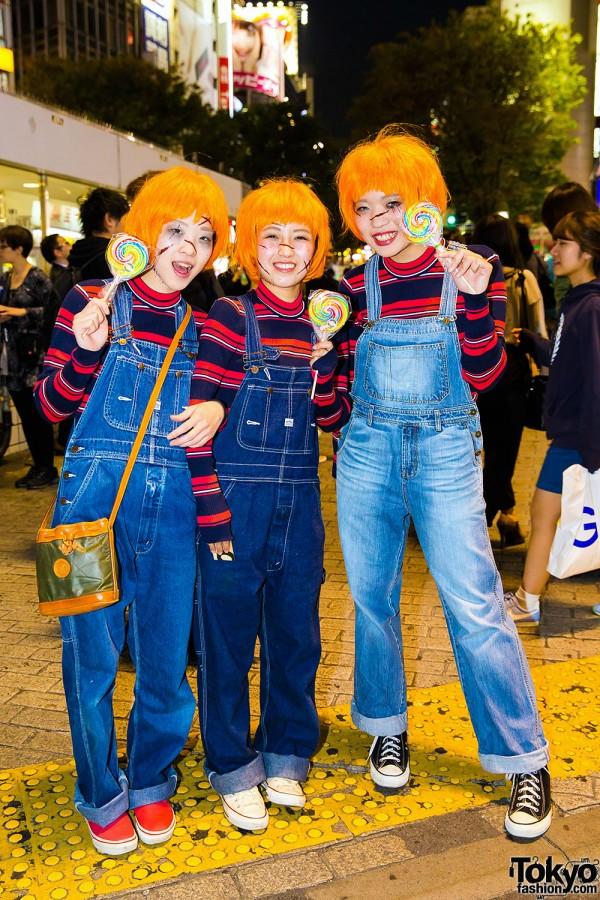 Halloween Eve in Japan - Costumes in Shibuya (4)