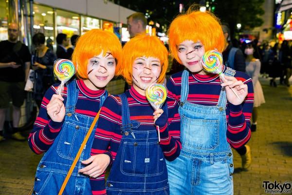 Halloween Eve in Japan - Costumes in Shibuya (5)