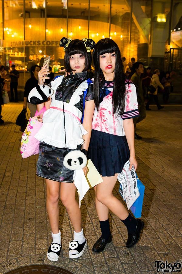 Halloween Eve in Japan - Costumes in Shibuya (6)