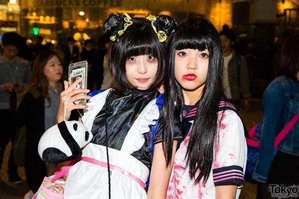 Halloween Eve in Japan - Costumes in Shibuya (7)