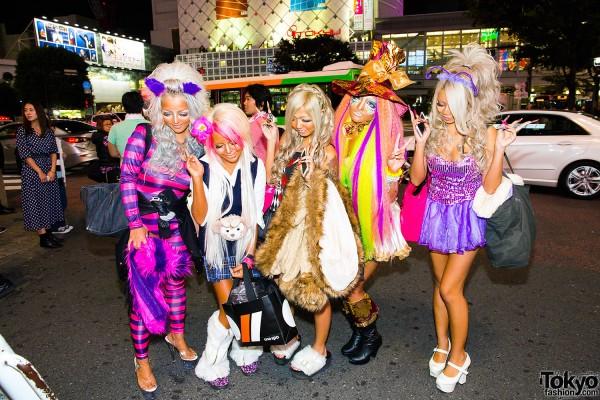 Halloween Eve in Japan - Costumes in Shibuya (10)