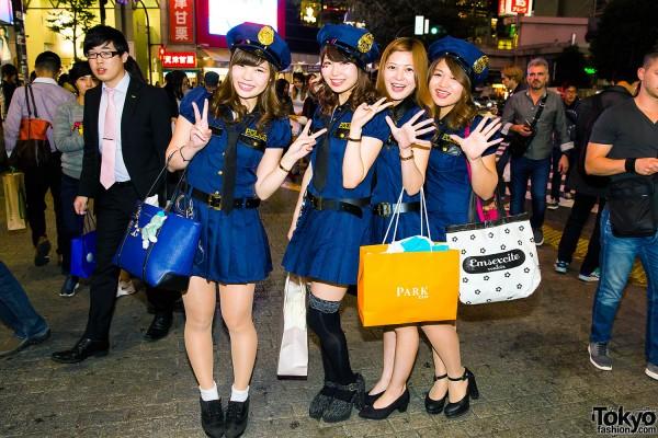 Halloween Eve in Japan - Costumes in Shibuya (14)