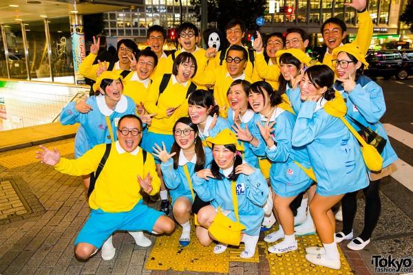 Halloween Eve in Japan - Costumes in Shibuya (23)