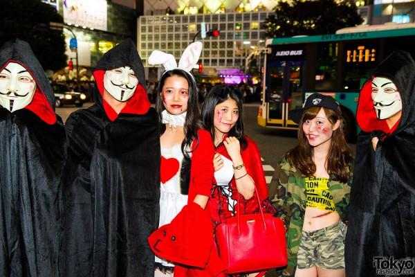 Halloween Eve in Japan - Costumes in Shibuya (26)