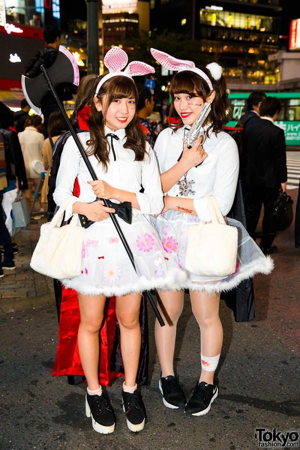 Halloween Eve in Japan - Costumes in Shibuya (31)