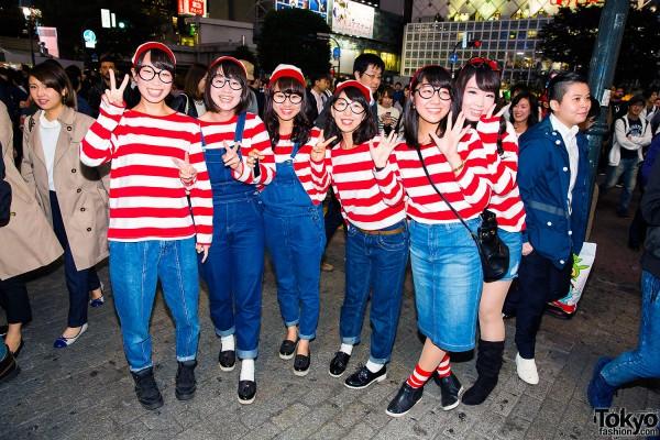 Halloween Eve in Japan - Costumes in Shibuya (43)