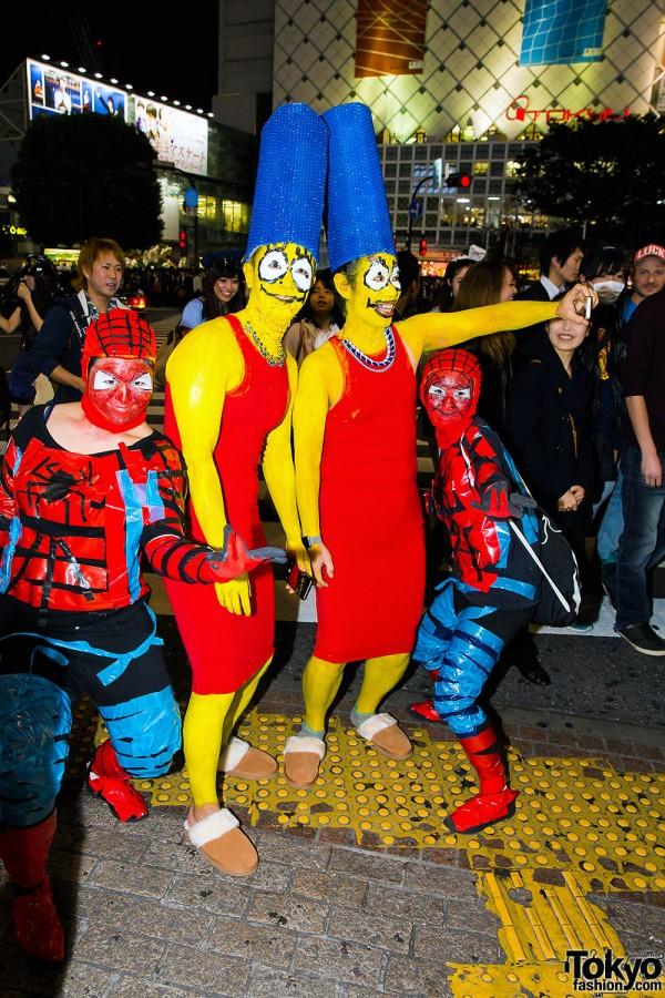 Halloween Eve in Japan - Costumes in Shibuya (47)