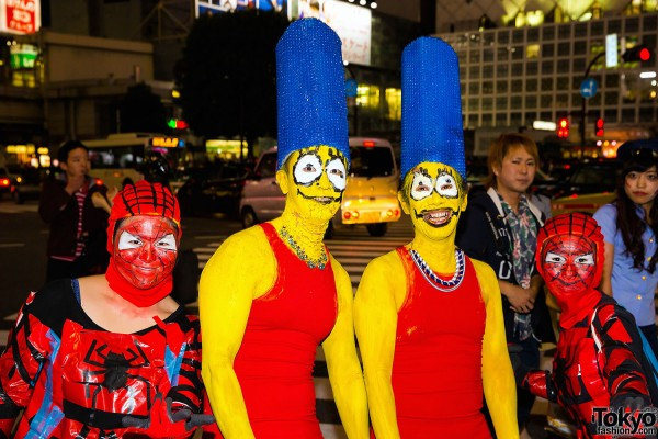 Halloween Eve in Japan - Costumes in Shibuya (48)