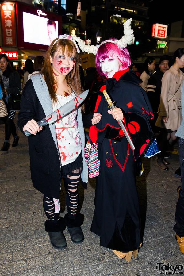 Halloween Eve in Japan - Costumes in Shibuya (62)