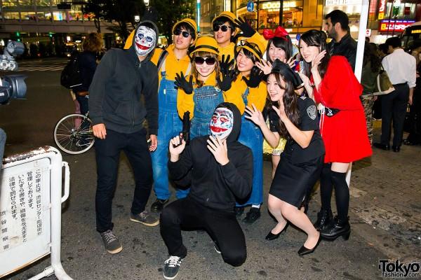 Halloween Eve in Japan - Costumes in Shibuya (63)