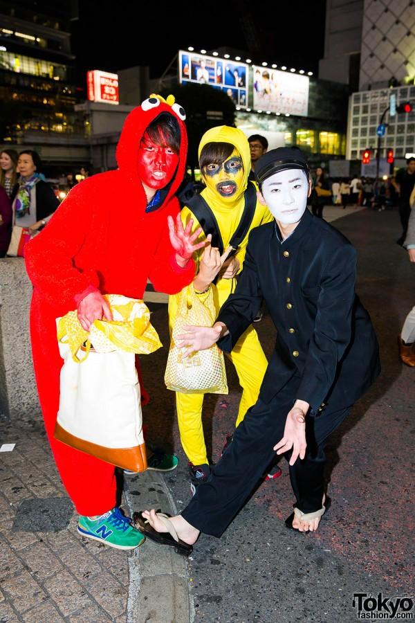 Halloween Eve in Japan - Costumes in Shibuya (64)