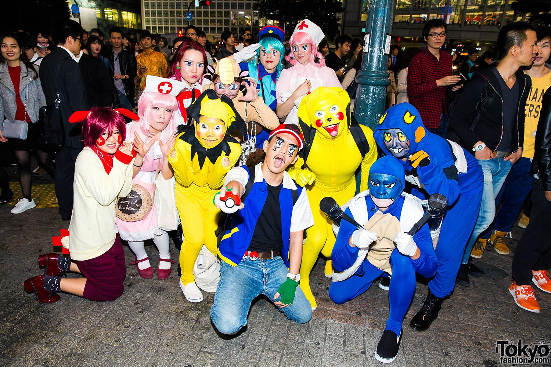 Halloween Eve in Japan - 150 Halloween Costume Pictures