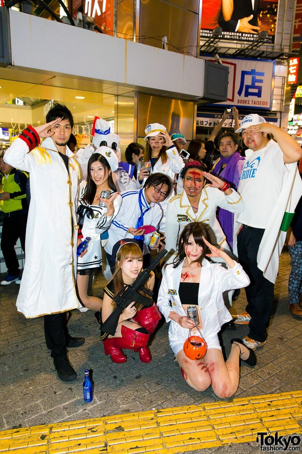 Halloween Eve in Japan - Costumes in Shibuya (128)