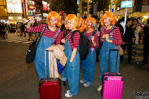 Halloween Eve in Japan - Costumes in Shibuya (130)