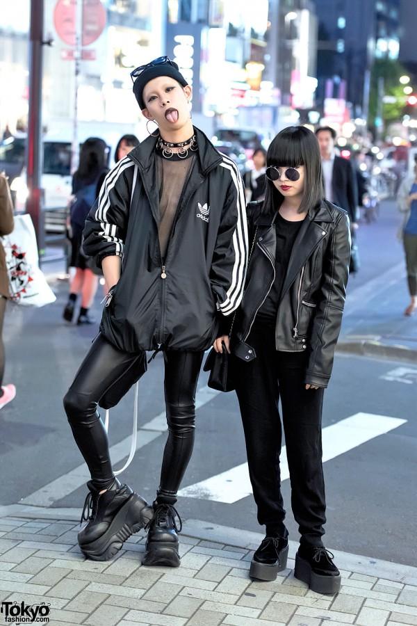 Dark Harajuku Street Styles w/ Never Mind The XU, Demonia, Chanel & Nadia