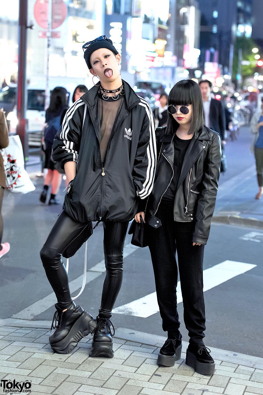 Dark Harajuku Street Styles W Never Mind The Xu Demonia