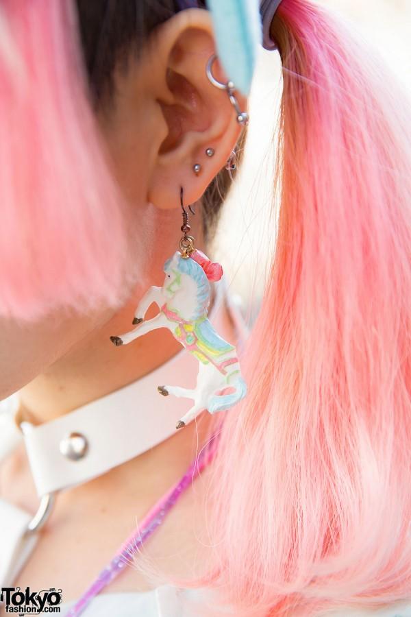 Horse Earring