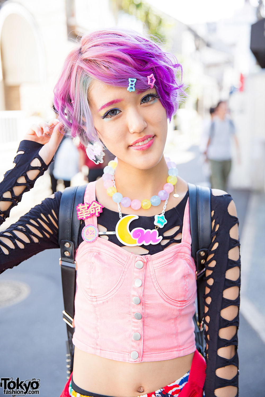 Kawaii Harajuku Styles W/ Pastel Hair, 6%DOKIDOKI, Cosmic