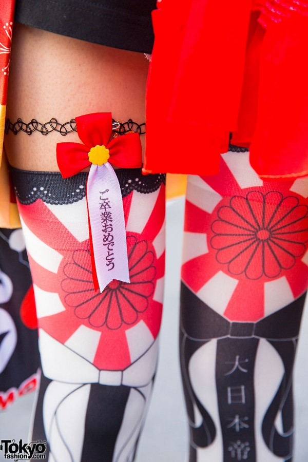 Japanese Graphic Tights