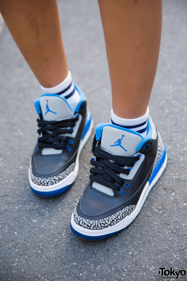 Harajuku Rappers in Air Jordan Sneakers w/ A Bathing Ape ...