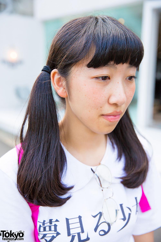 Harajuku Girls In Pair Look W Quot Yume Miru Shoujo Quot Tops