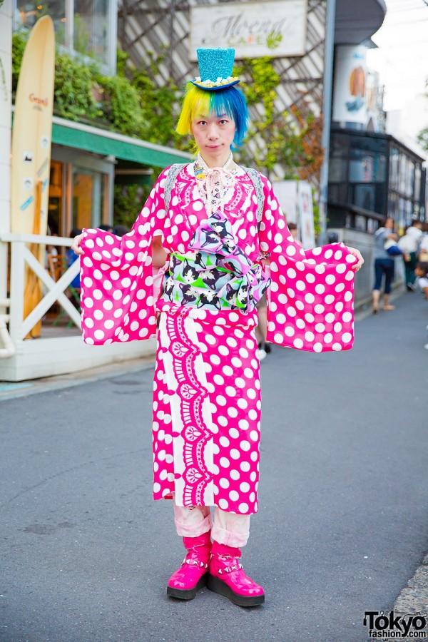 Tokyo Kawaii Musee Harajuku Kimono, Japaran Randoseru & Super Lovers Boots