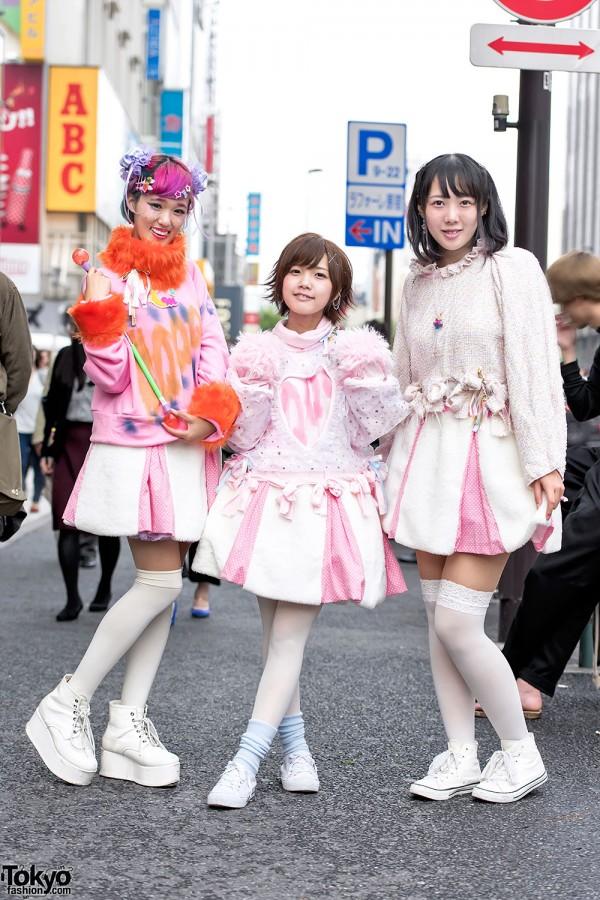 Kawaii Harajuku Street Styles w/ Conpeitou, Isekai, Cosmic Magicals & Jane Lemon a di