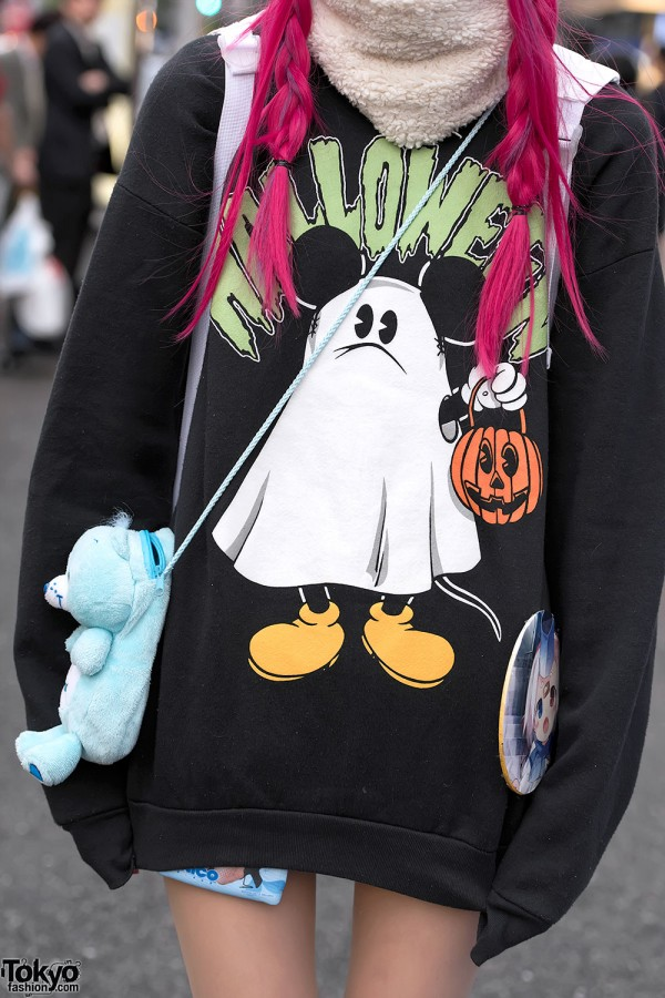 Disney Japan Halloween Sweatshirt