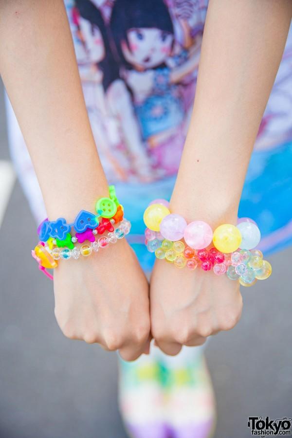 Colorful Harajuku Bracelets