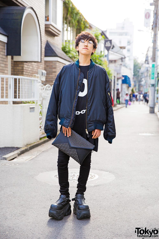 Harajuku Guy W Elcasion Bomber Demonia Platforms Long Clothing Uniqlo