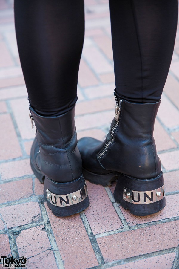 UNIF Boots With Metal Heels