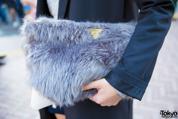 Joyrich Faux Fur Bag