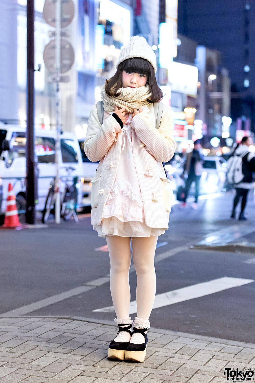 Keisuke Kanda Pastel Blazer Tulle Skirt Tokyo Bopper Platforms In Harajuku