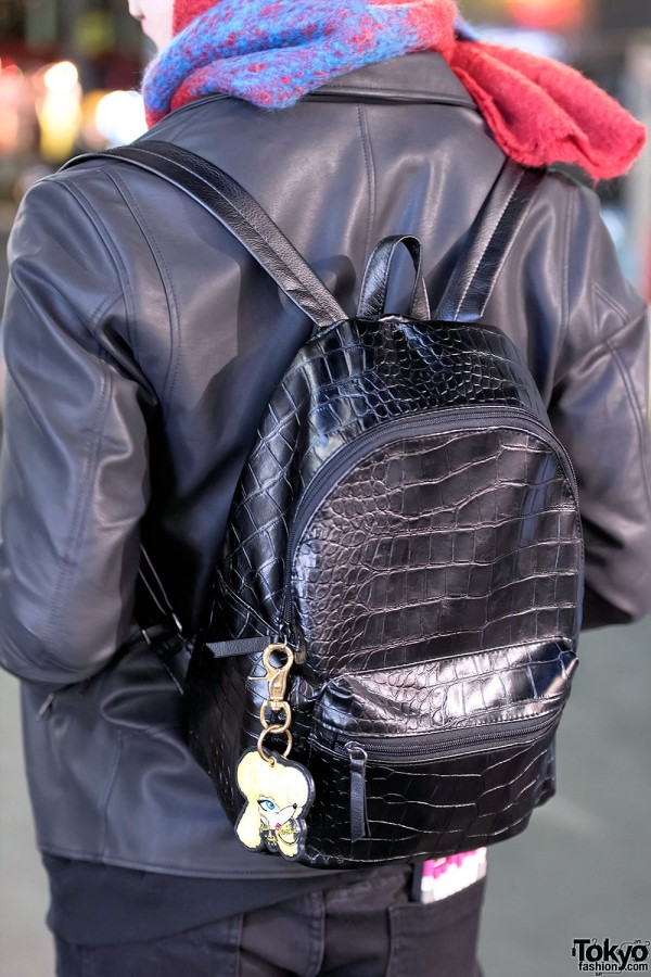 H&M Faux Leather Backpack