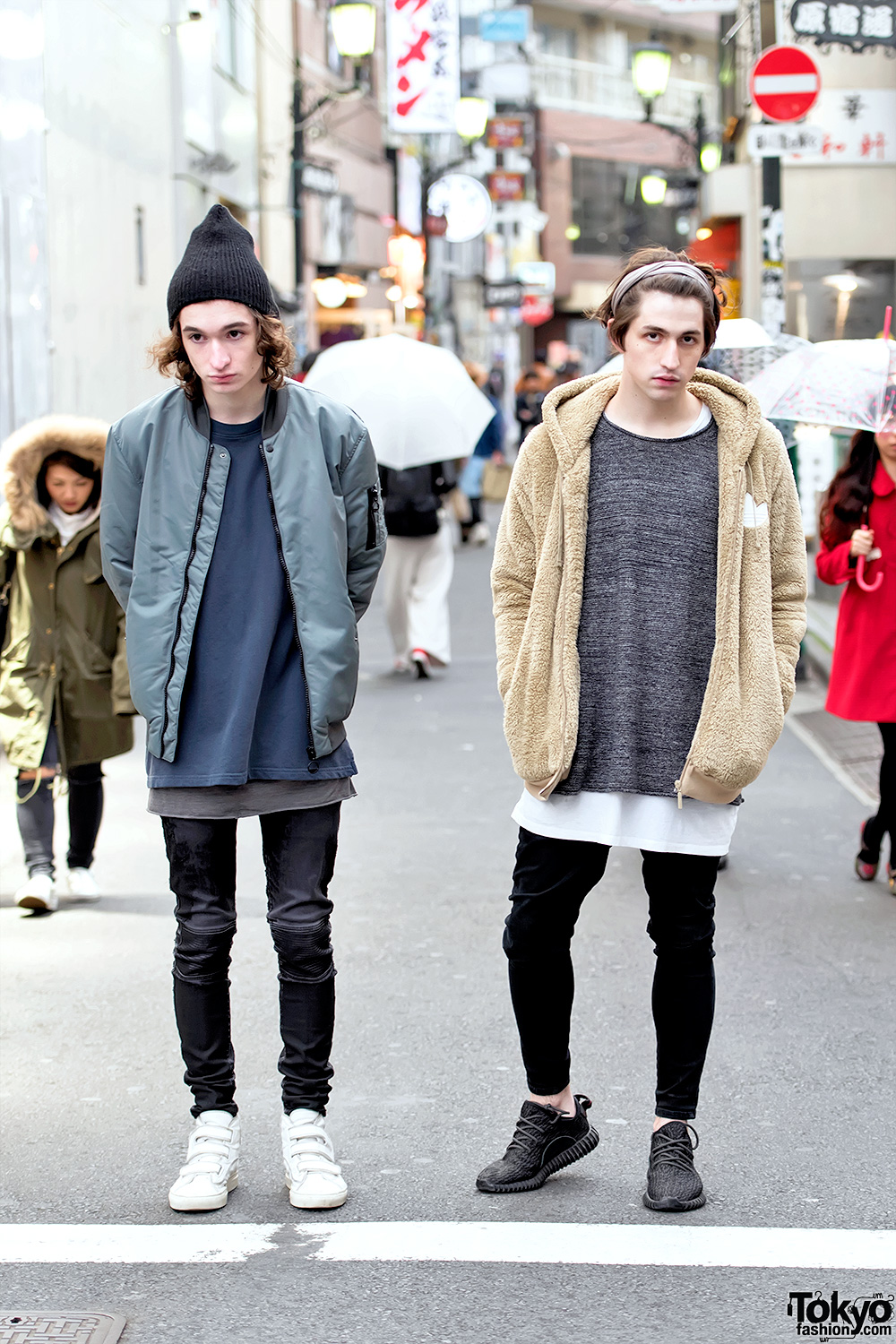 Electronic Musician Porter Robinson & Brother In Harajuku