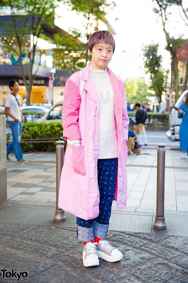 Harajuku Girl w/ Pink Hair in Tokyo Bopper, Pink House & Resale Fashion