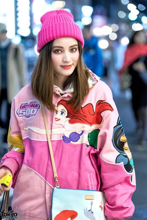 Disney Princess Bomber Jackets Colorful Fashion Amp Cute