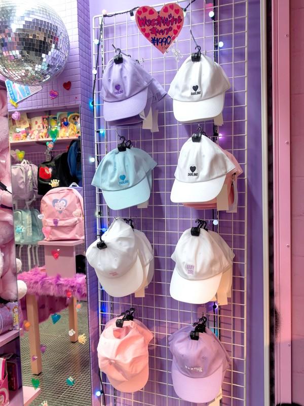 Pink Caps - Harajuku Fashion Trend (1)