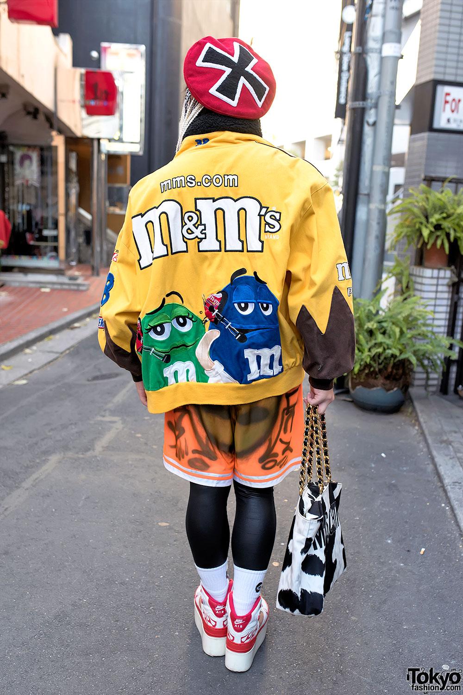 Harajuku Guy In M Amp M S Bomber Jacket Thrift Store