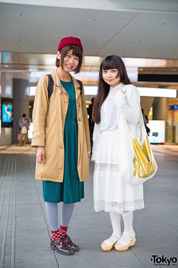 Shibuya Girls in H&M, Ehka Shop, earth music & ecology & Ne-net Items