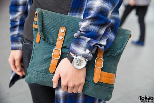 Global Work Clutch Bag