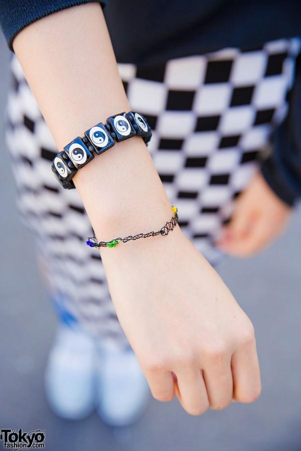 Yin Yang Symbol Bracelet