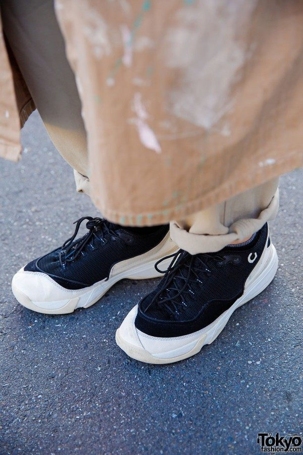 Gravis Sneakers & Yohji Pants
