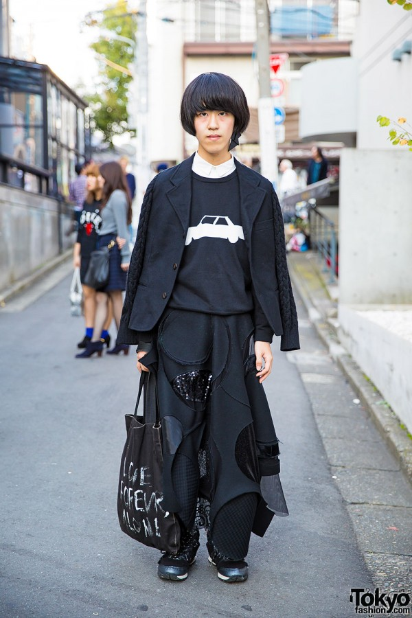 tricot Comme des Garcons x Junya Watanabe