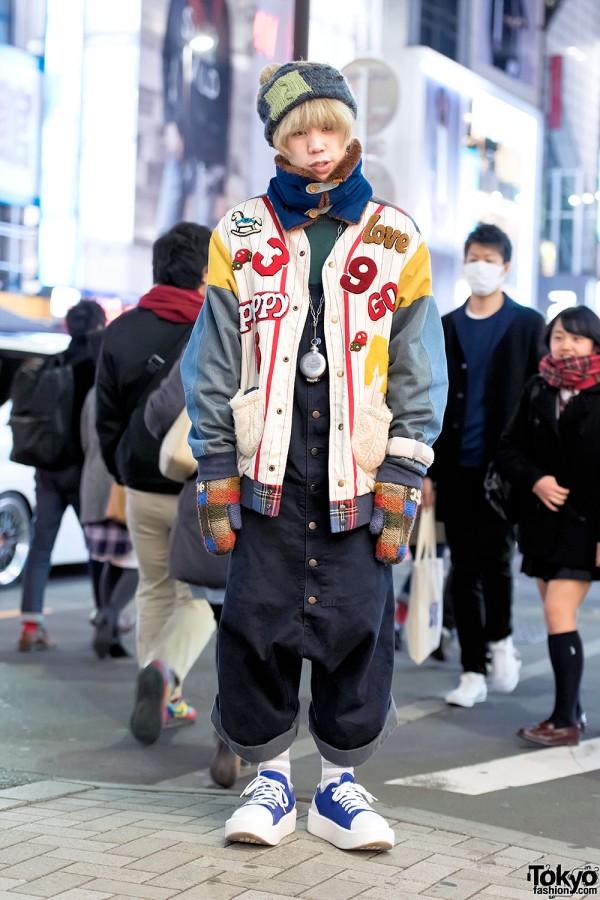 HEIHEI Jacket, Christopher Nemeth Overalls & Tokyo Bopper Shoes
