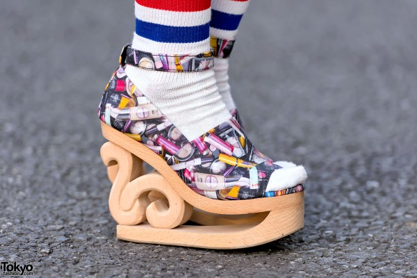 Jeffrey Campbell Lipstick Platform Shoes