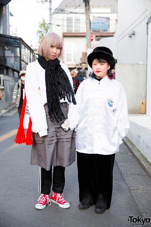 Harajuku Girls w/ Pin Nap, Funktique, Comme des Garcons, Adidas, Nadia & Vidakush Items